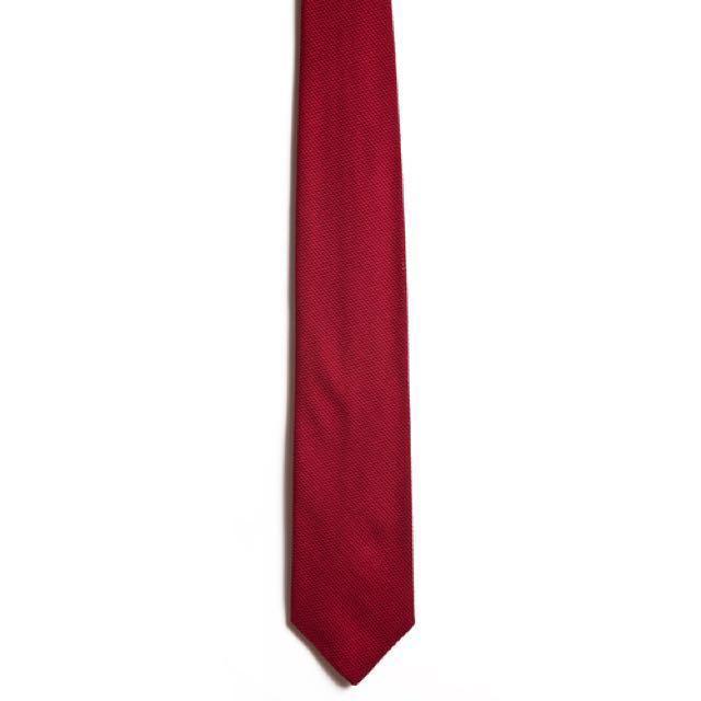 5c1180b20927 Red Grenadine Chipp Neckwear tie, Men's Fashion, Accessories, Ties ...