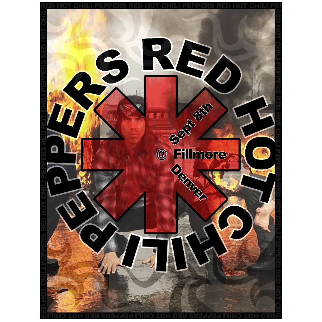 Red Hot Chili Peppers Posters Design Craft Art Prints On Carousell