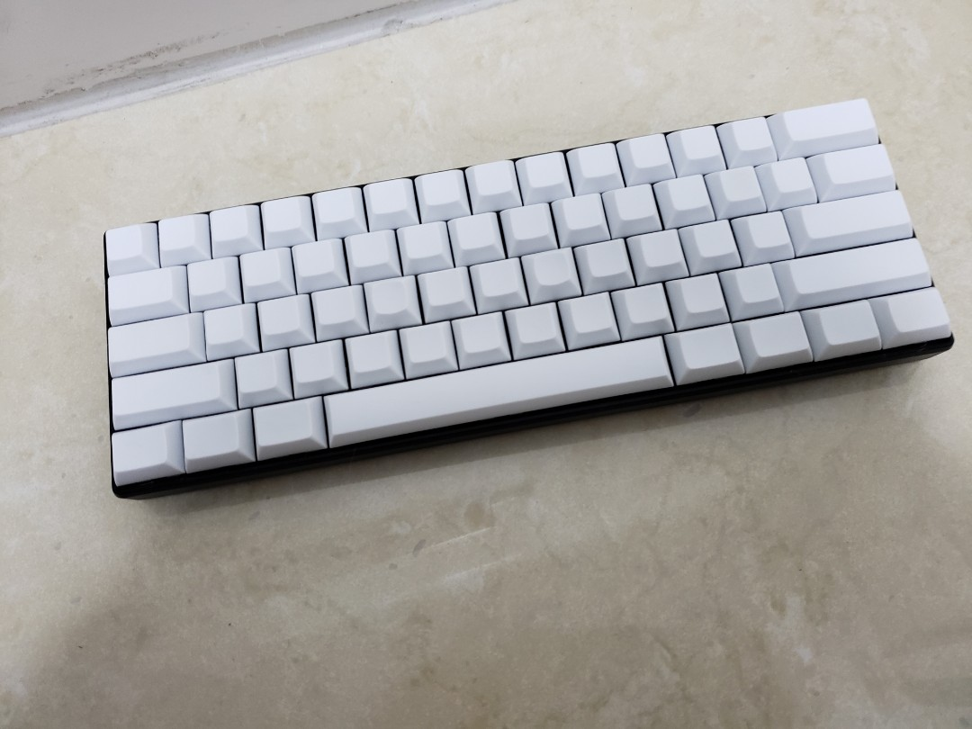 RK61 Mechanical Keyboard w/Blank DSA Keycaps