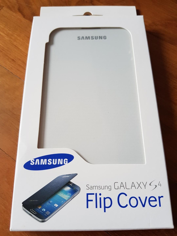 sports shoes 569dd 9e99e Samsung Galaxy S4 Flip Cover WHITE