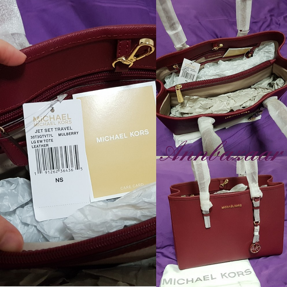 Special Offer Michael Kors Jet Set Travel Large Handbag Mulberry Jetset Lugagge Authentic 100 Womens Fashion Bags Wallets Handbags On Carousell