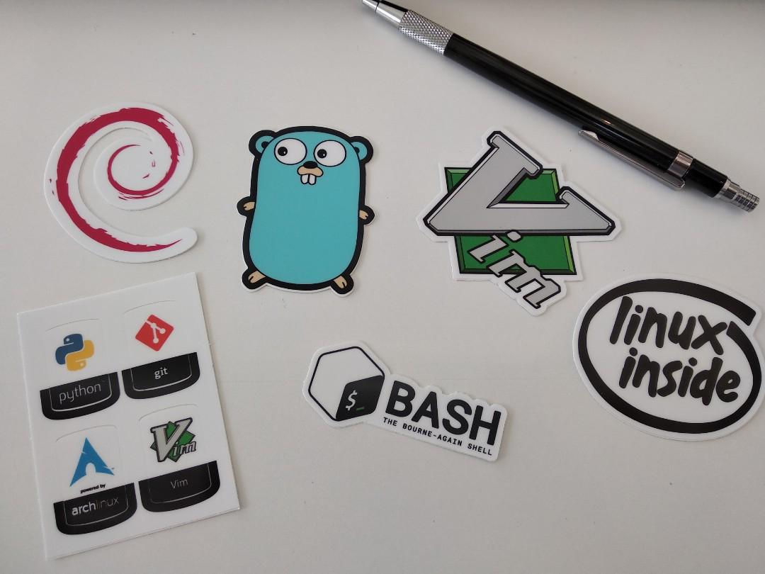 Stickers for programming languages, Vim, Official Bash