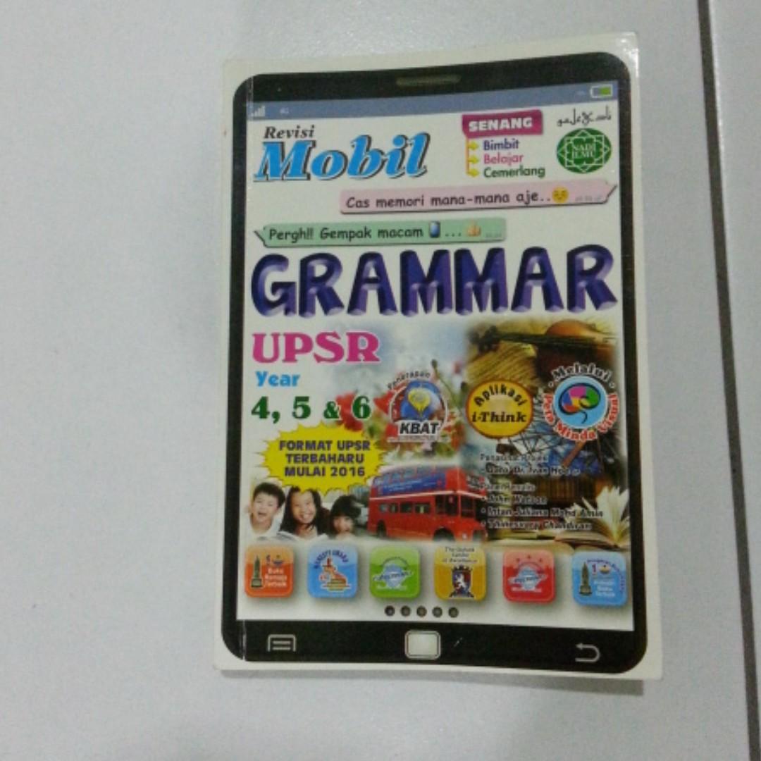 UPSR YEAR 4 5 Grammar English Books Stationery On Carousell