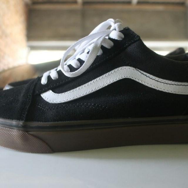120fbe7be98a Vans oldschool black gum original not converse