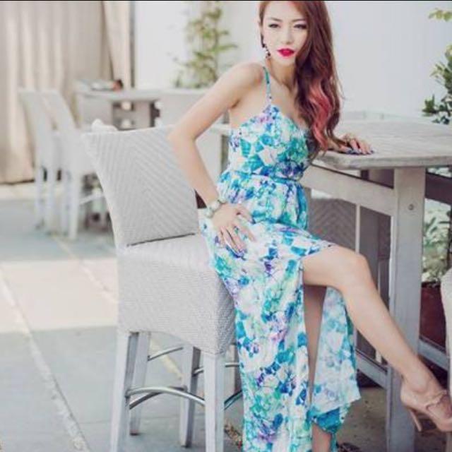 fec61776e7 VGY Paloma Faith Maxi Dress XS