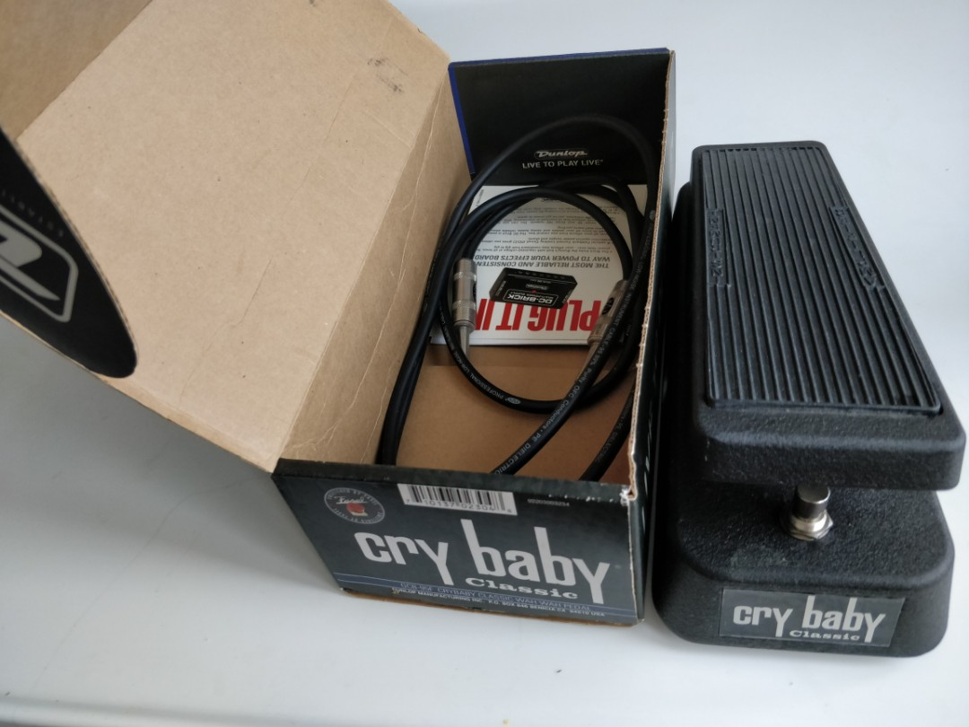 Wah wah pedal Cry Baby Classic