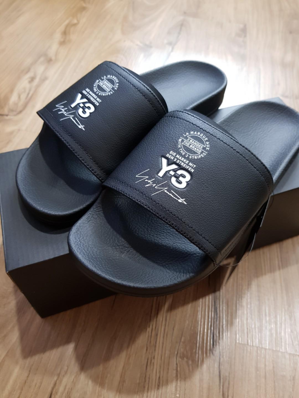 Y3 adilette slide, Men's Fashion