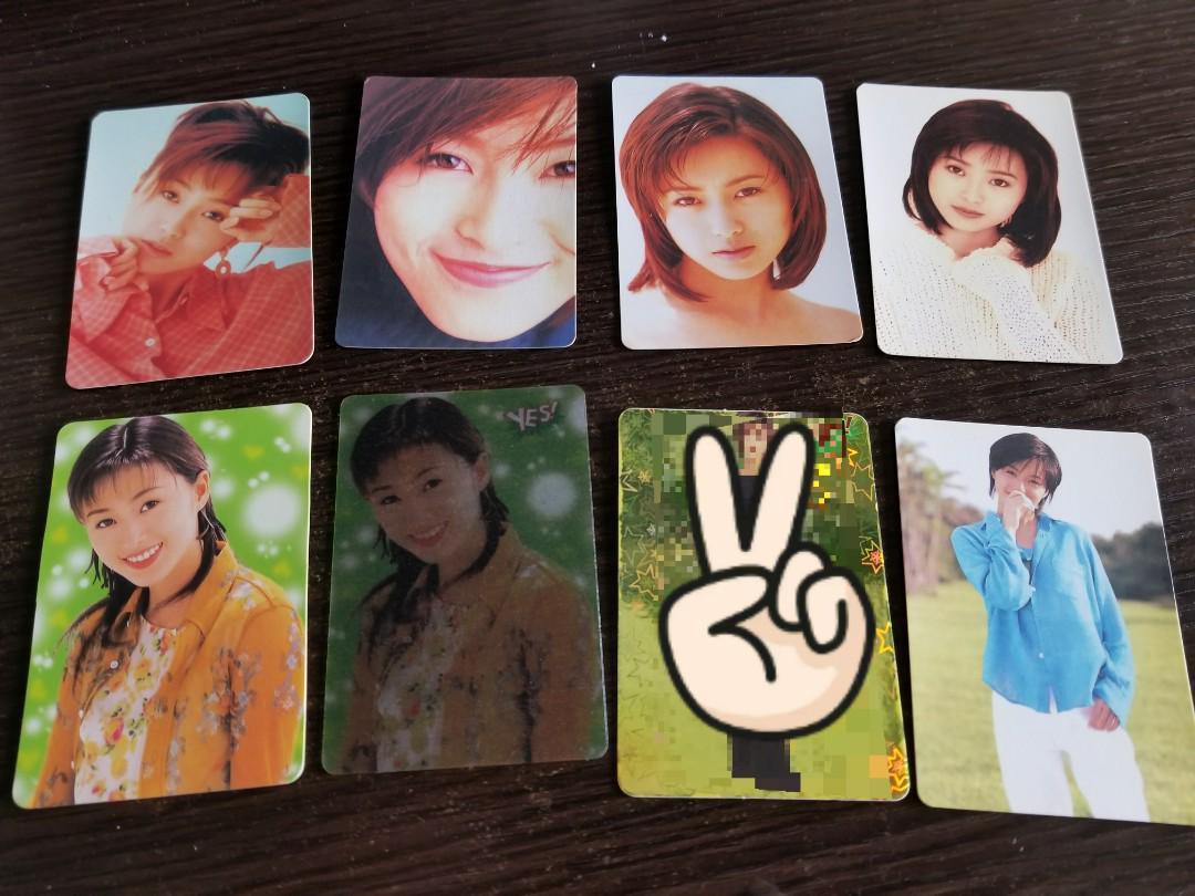 Yes Card 酒井法子 白咭每張10蚊,磨砂15,包平郵