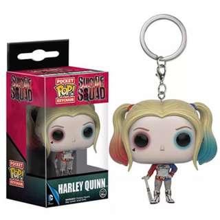 Funko POP Key chain Harley Quinn