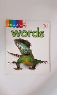 Look and Learn: words (age 0-3)