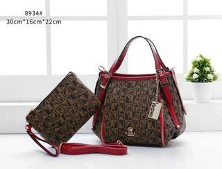 BONIA   2IN1  #8934 Handbag