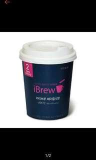 🚚 韓國ibrew 榛果口味 咖啡 單杯