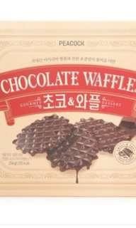 🚚 韓國巧克力鬆餅餅乾