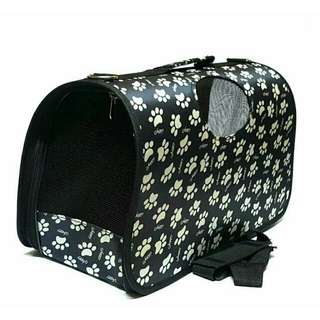 PET Foldable Pet Carrier Bag Cage ( small )