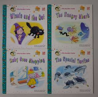 Little Readers Series Level 6 (4 books)
