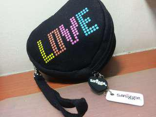 Smiggle black pouch