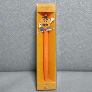 (包郵)🇰🇷Disney Toy Story Mr. Potato Head Pen 廸士尼反斗奇兵薯蛋先生筆