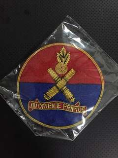 SAF OCS Sword Case Badge - Artillery