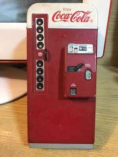 Coca Cola 可口可樂錢箱 復古舊