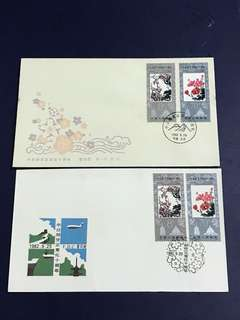 China Stamp- 1982 J84 A/B FDC
