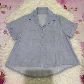 SALE‼️crop shirt