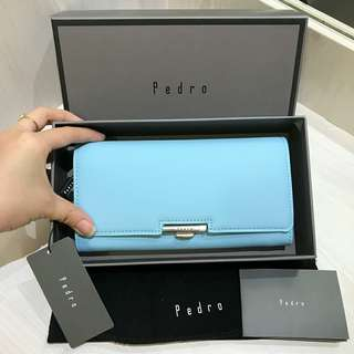 pedro wallet blue