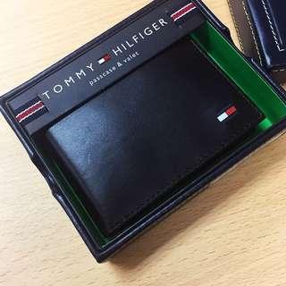 Tommy Hilfiger Wallet 真皮銀包 卡片套 黑色 深藍色 深紅色