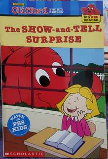 Clifford The Show and Tell Surprise