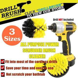 DRILL BRUSH-POWER SCRUBBER