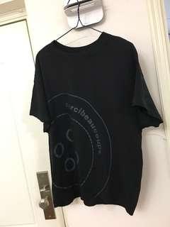 mercibeaucoup,黑色T-Shirt (99%新)size1