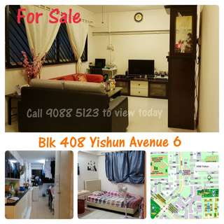 4S For Sale - Blk 408 Yishun Avenue 6