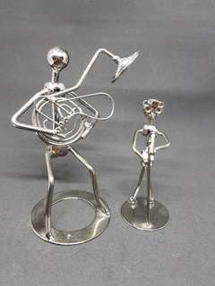 Stainless Steel Musicians