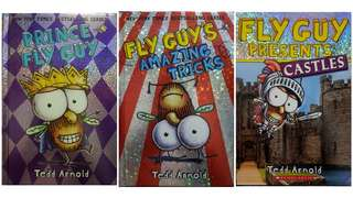 Fly Guy Books Bundle of 3