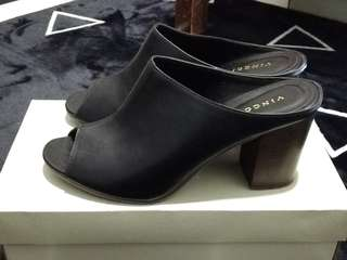 Vincci Mules Heels in Black