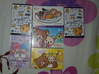 [IN STOCKS] BLOCKED Ez-Link Cards (Sanrio)