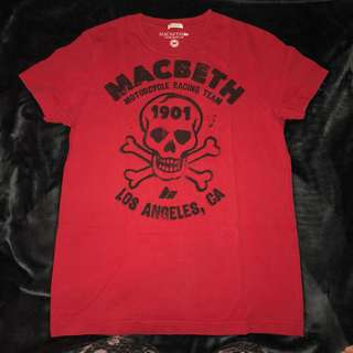 Macbeth Red tshirt