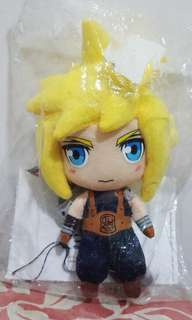 SQEX FINAL FANTASY VII MINI PLUSH : CLOUD marvel dc neca shf spawn hot toys