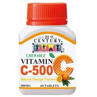 🚚 Chewable Vitamin C 500mg