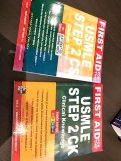 USMLE step 2 books.