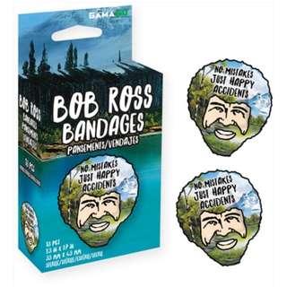 🚚 Bob Ross Bandages