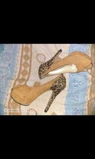 Heels 12cm leopard