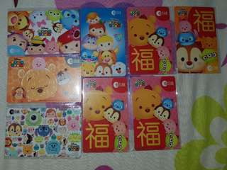 [IN STOCKS] BLOCKED Ez-Link Cards (TsumTsum)