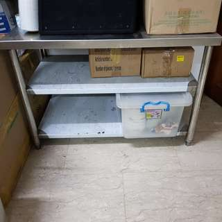2-Tier Commercial Stainless Steel Rack