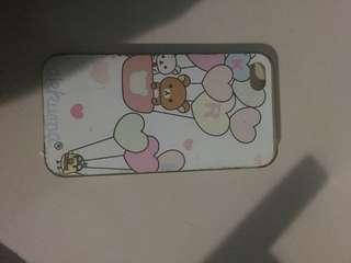 Case rilakuma untuk iphone 4 / iphone 4 case