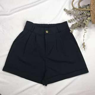 BNWT Black High Waist Shorts