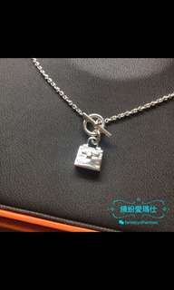 Hermes Kelly Amulette Pendant 925 Silver 配貨價出售,送禮🎁自用㫮而👍Full set with shop receipt. Please pm if interested. Thanks😊
