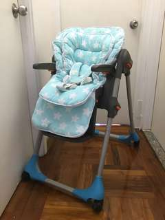 Chicco high chair/餐椅