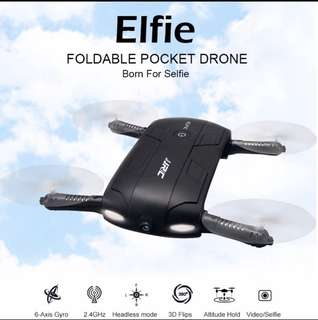 🚚 *CHEAPEST Gift* JJRC H37 ELFIE Foldable Mini RC Selfie Drone WiFI FPV HD Camera Mini RC Drone With 720P Camera G-sensor Helicopter VS JJRC H36