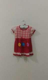 SALEE..Dress Baby Red