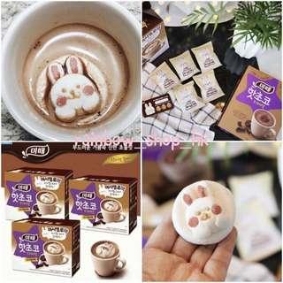 韓國代購🇰🇷飄浮兔兔熱巧克力飲 朱古力粉